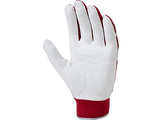 打擊手套(雙手) RED,WHITE
