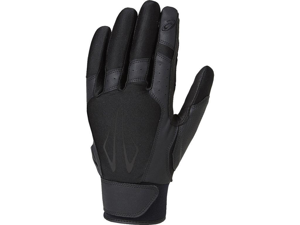 ASICS ONLINE STORE アシックスオンラインストア【ASICS/アシックス】 守備用手袋(片手) ブラックxブラック メンズ_BEG370