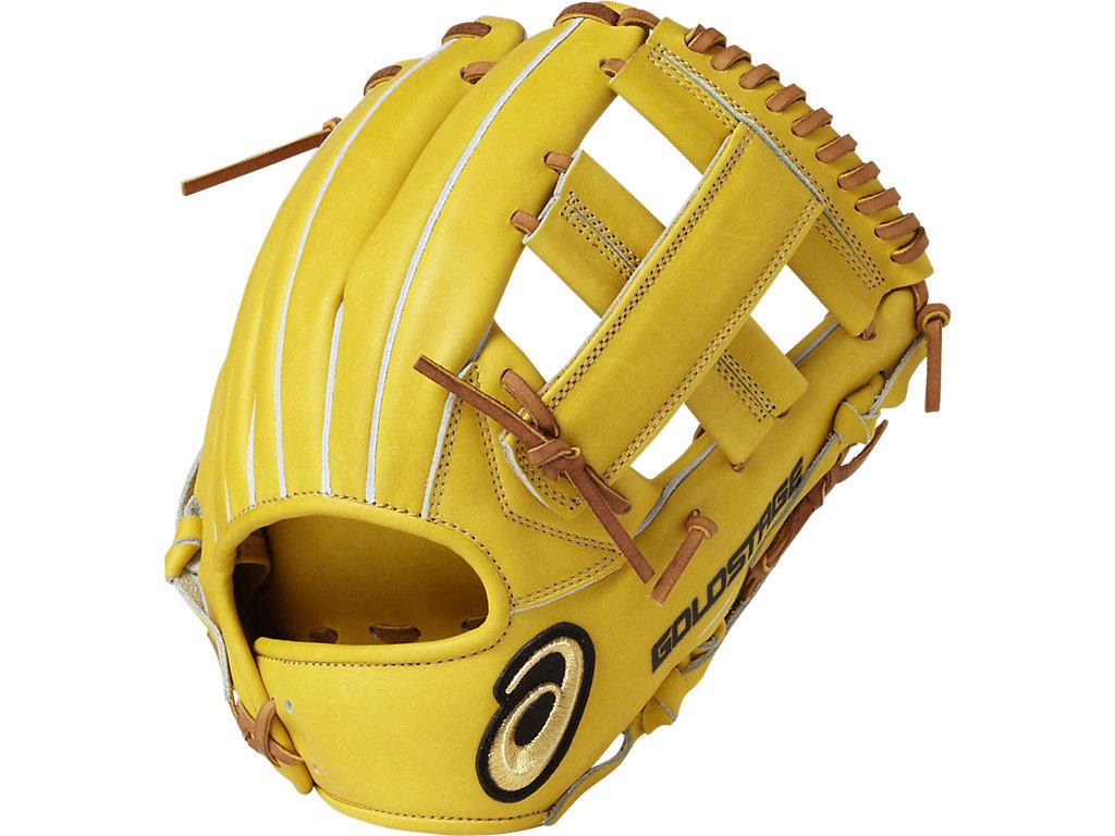 ゴールドステージロイヤルロード内野手用:ブラウンゴールド×ライトブラウン