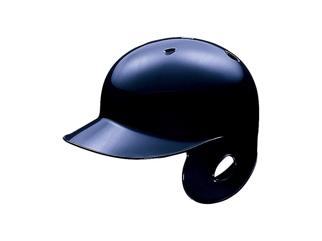 軟式用バッティングヘルメット(右打者用):ネイビー