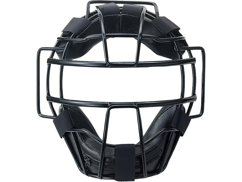 ジュニア硬式用マスク:ブラック