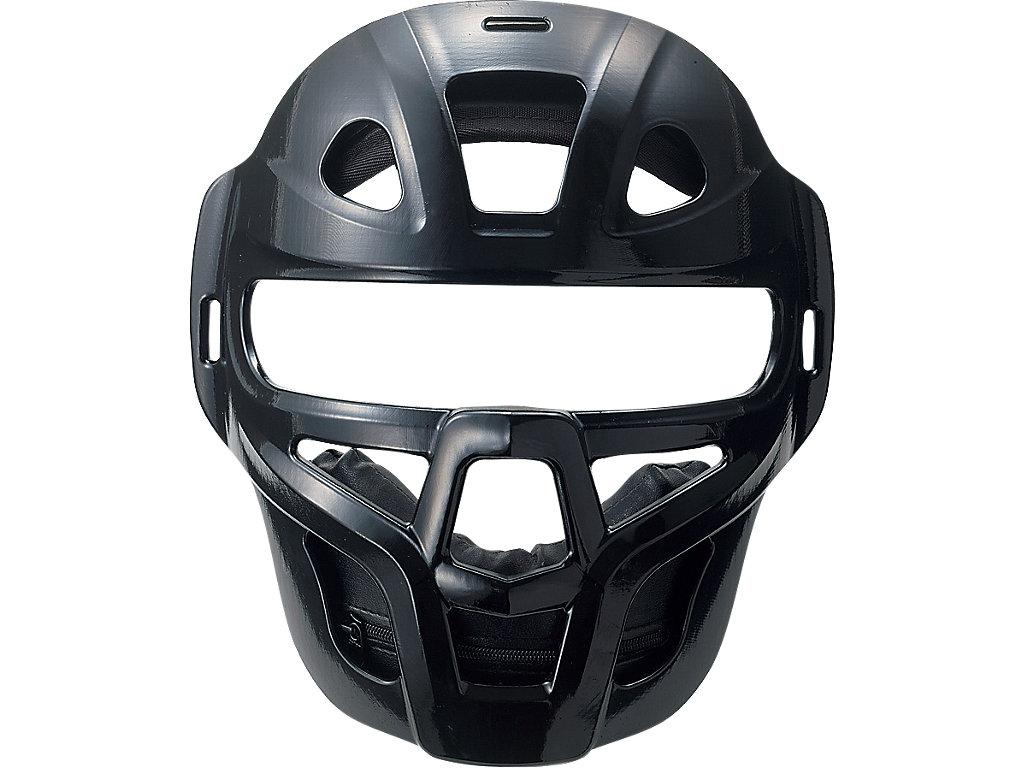 ジュニア軟式用マスク(C・D号ボール対応):ブラック
