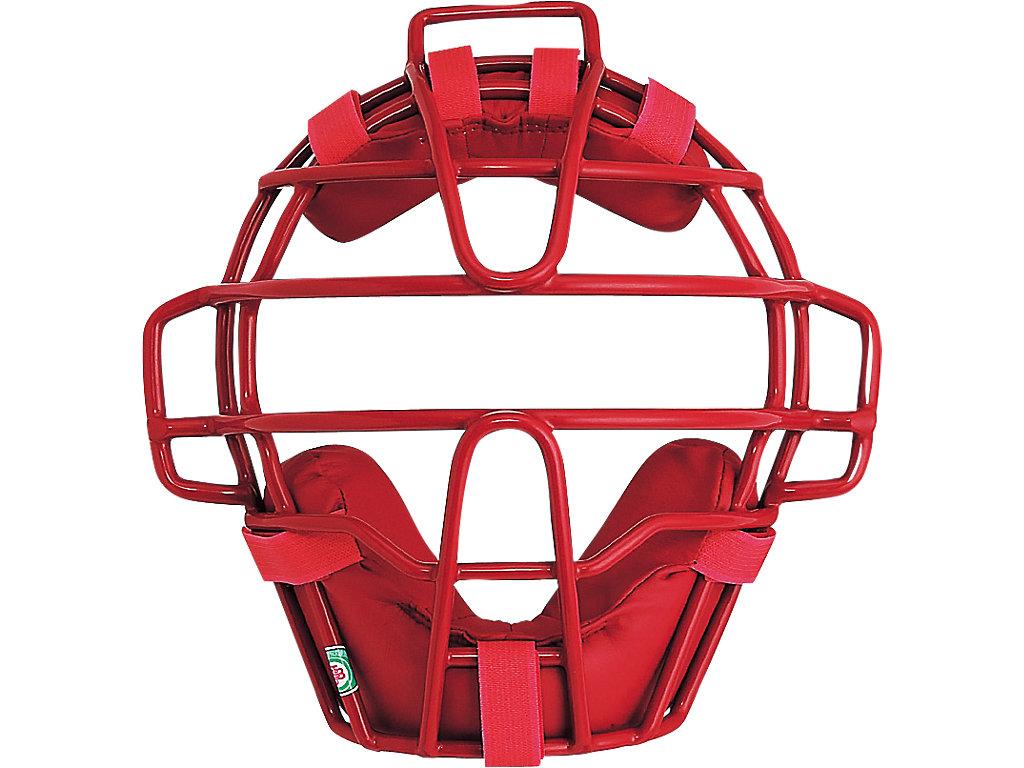 ジュニア軟式用マスク(C・D号ボール対応):レッド