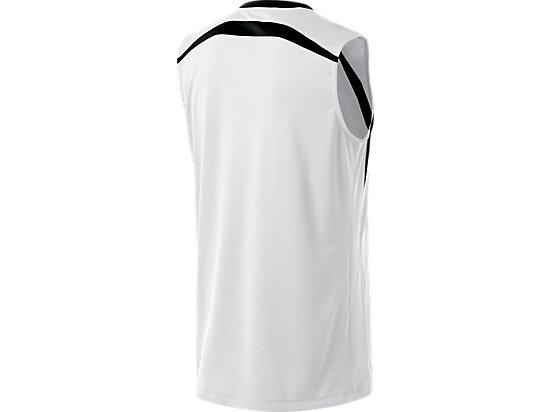Tyson Sleeveless White/Black 7