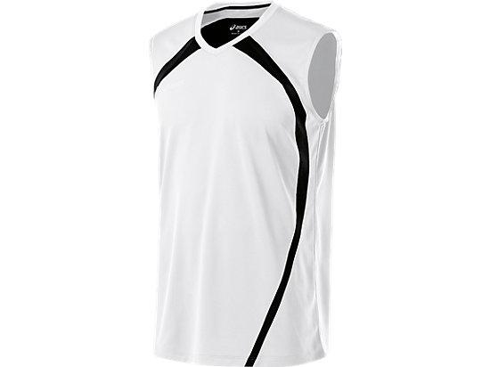 Tyson Sleeveless White/Black 3