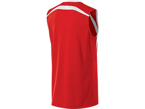Tyson Sleeveless Red/White 7