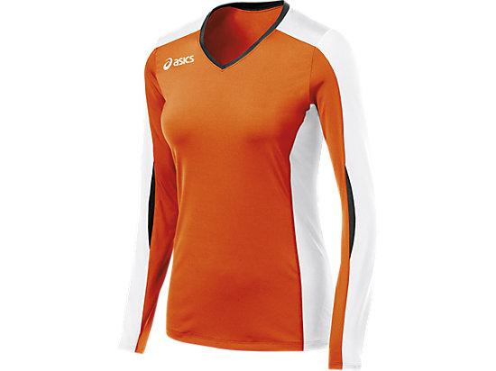 Roll Shot Jersey Orange/White 3