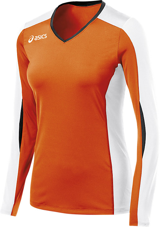 Roll Shot Performance Jersey Orange/White 3 FT