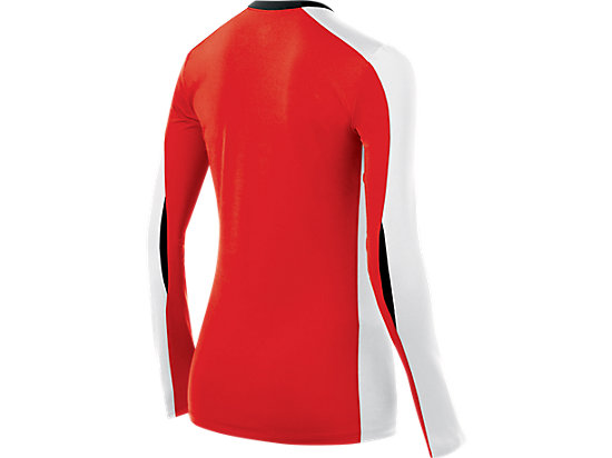 Roll Shot Jersey Red/White 7