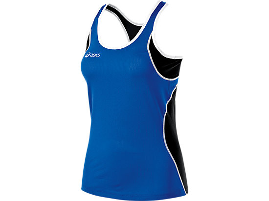 Main Street Beach Tank Royal/Black 3