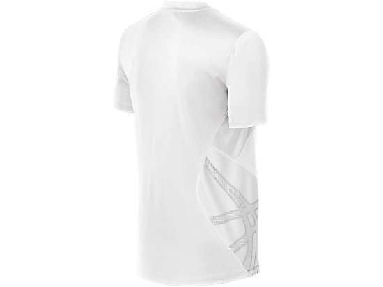 ASICS Team Performance VB Short Sleeve White/White 7