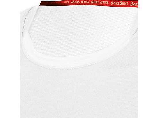 ASICS Team Performance VB Short Sleeve White/White 15