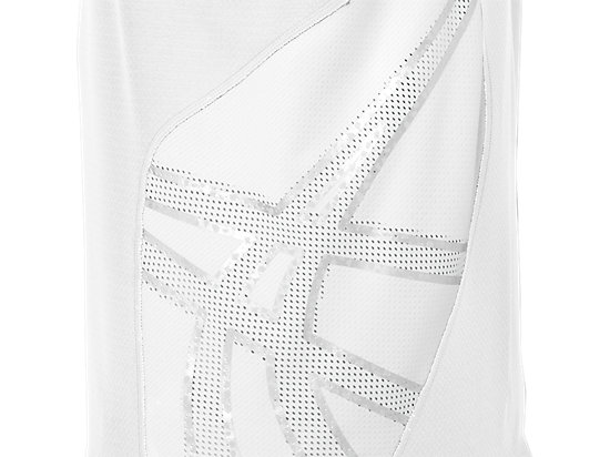 ASICS Team Performance VB Short Sleeve White/White 19
