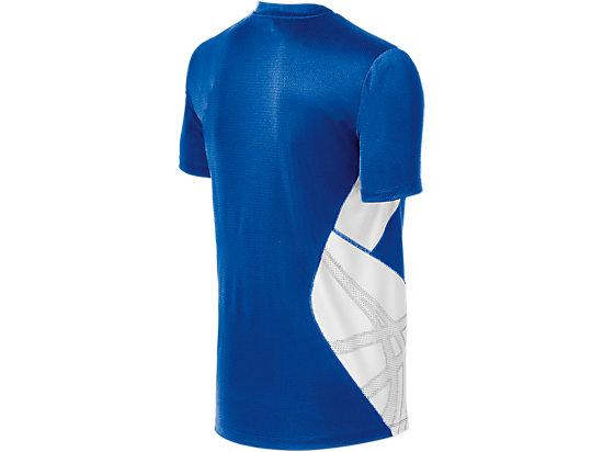 ASICS Team Performance VB Short Sleeve Royal/White 7