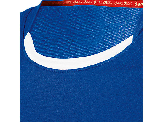 ASICS Team Performance VB Short Sleeve Royal/White 15