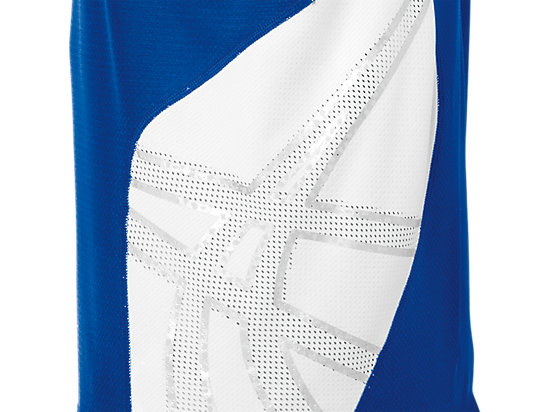 ASICS Team Performance VB Short Sleeve Royal/White 19