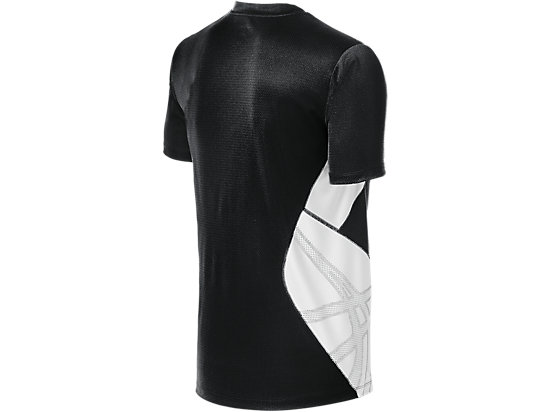 ASICS Team Performance VB Short Sleeve Black/White 7