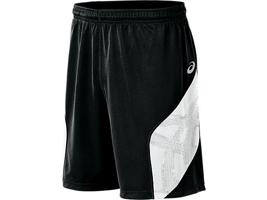 ASICS Team Performance VB Short Black/White 3