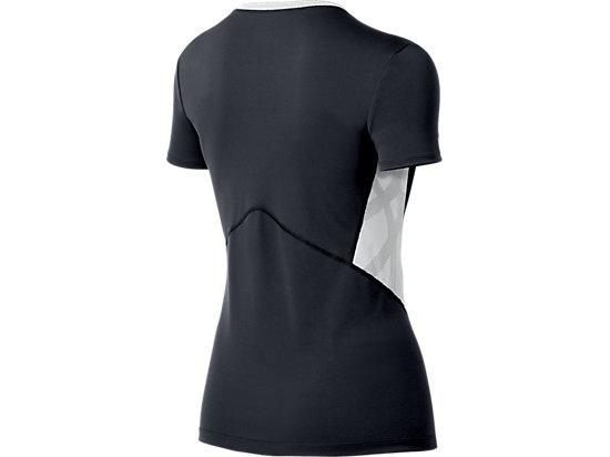 ASICS Team Performance VB Short Sleeve Steel Grey/White 7