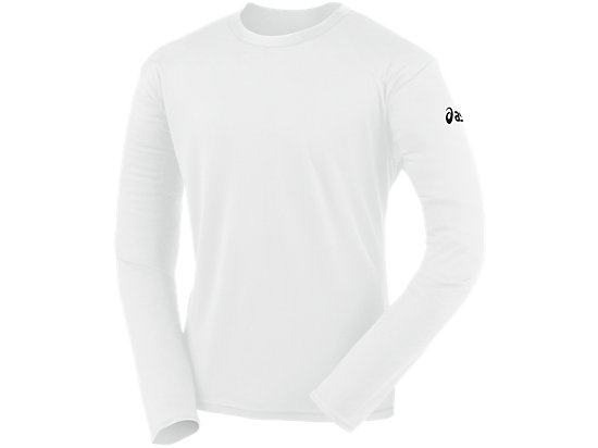 Circuit-7 Warm-Up Long Sleeve Shirt White 3