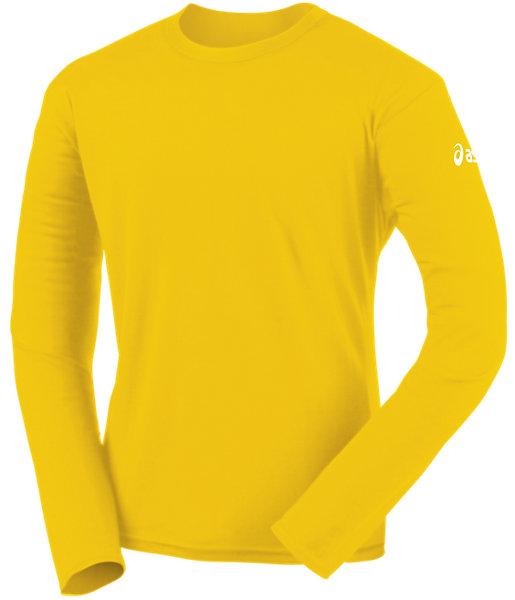 Circuit-7 Warm-Up Long Sleeve Shirt Gold 3 FT