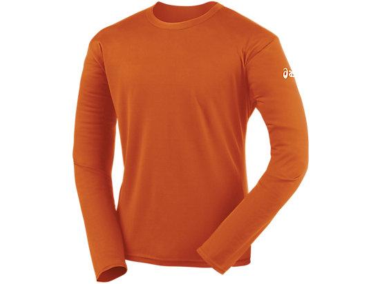 Circuit-7 Warm-Up Long Sleeve Shirt Orange 3