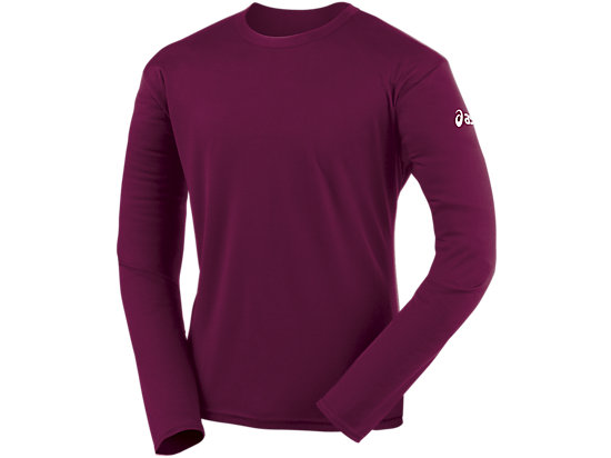 Circuit-7 Warm-Up Long Sleeve Shirt Cardinal 3