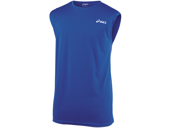 Circuit 7 Warm-Up Shirt  Sleeveless Royal 3