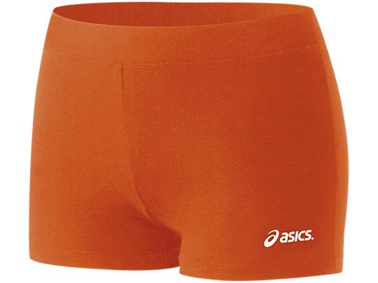 Women's Low Cut Short Orange 3