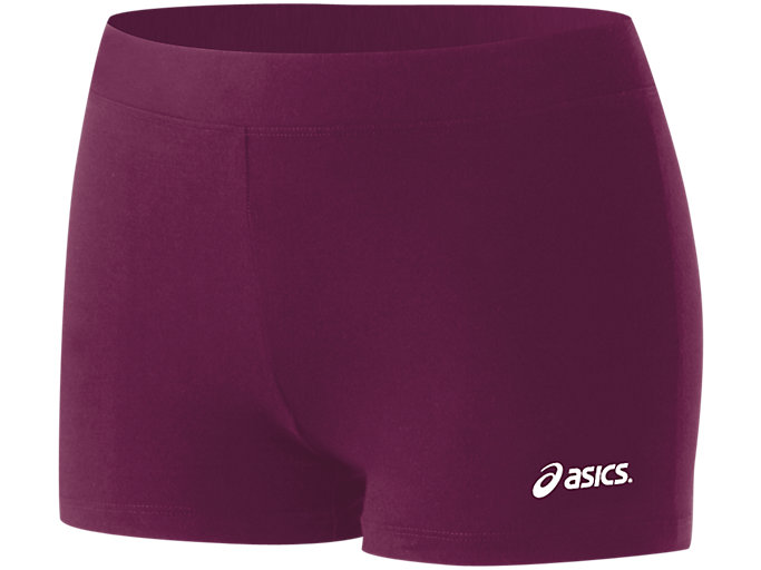 Front Top view of Women's Low Cut Performance Short