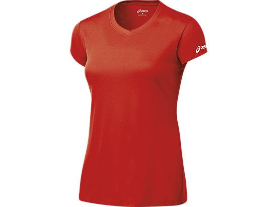 Women's Circuit 7 Warm-Up Shirt Red 3