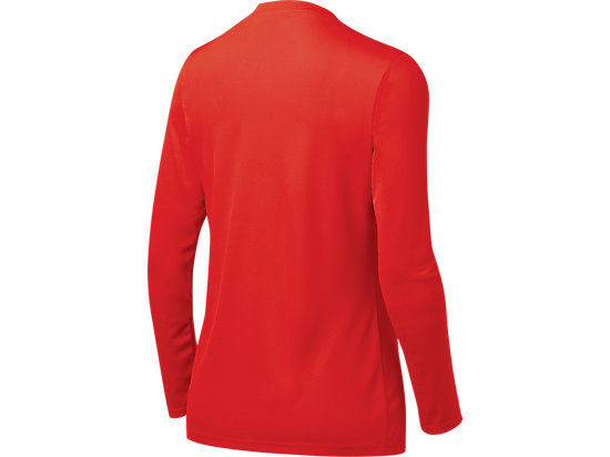 Women's Circuit 7 Warm-Up Long Sleeve Red 7