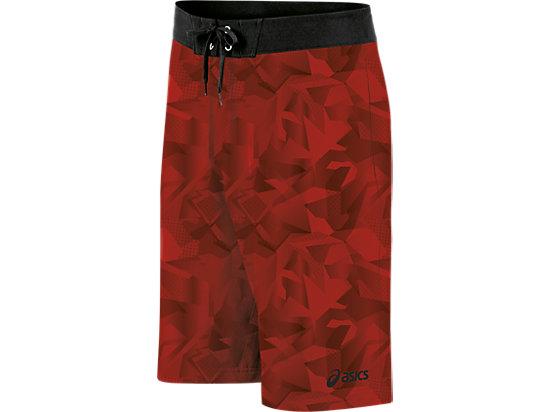 Pierside Boardshort Red/Black 3