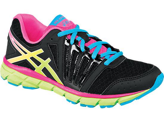 GEL-Lyte33 2 GS Black/Flash Yellow/Hot Pink 3