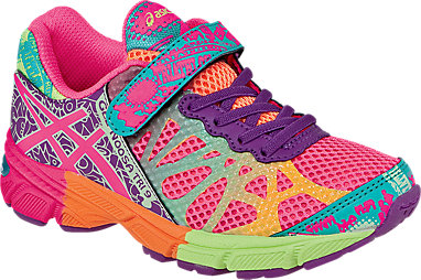 detailing 6b144 83936 GEL-Noosa Tri 9 PS Hot Pink Neon Purple Flash Yellow 3 FR