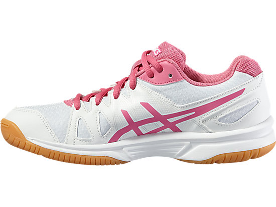 GEL-UPCOURT GS WHITE/AZALEA PINK/WHITE 11 LT
