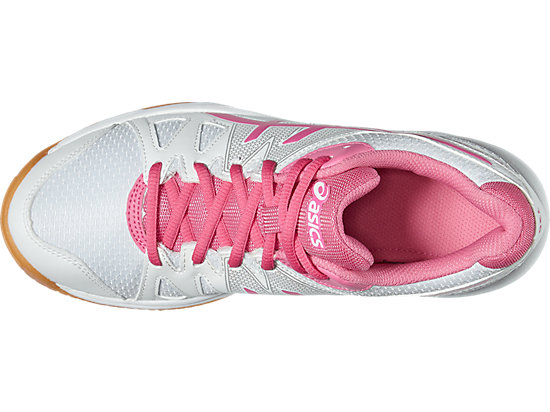 GEL-UPCOURT GS WHITE/AZALEA PINK/WHITE 19 TP