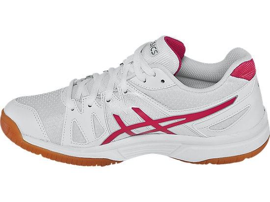 GEL-Upcourt GS White/Raspberry/Silver 15