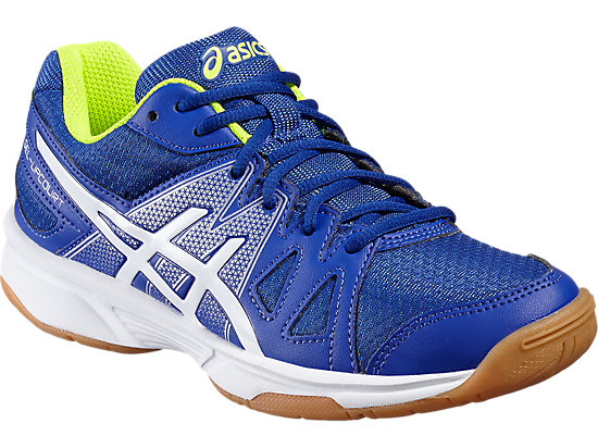 GEL-UPCOURT GS ASICS BLUE/WHITE/SAFETY YELLOW 7