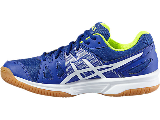 GEL-UPCOURT GS ASICS BLUE/WHITE/SAFETY YELLOW 11