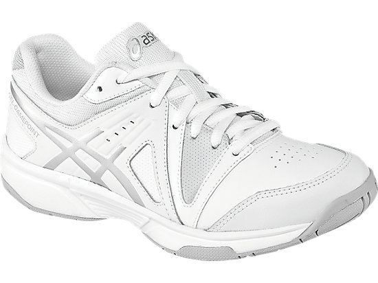 GEL-Gamepoint GS White/Silver/White 3