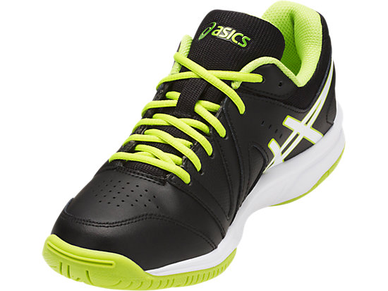 GEL-GAMEPOINT GS BLACK/WHITE/ENERGY GREEN