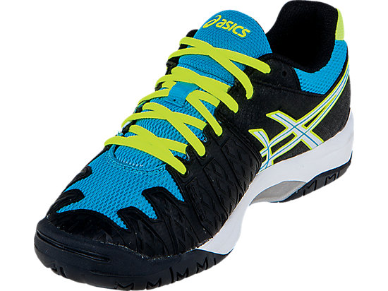 GEL-Resolution 6 GS Onyx/White/Atomic Blue 11