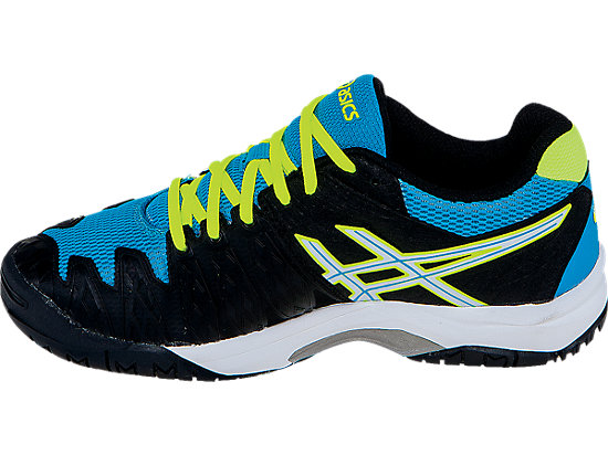 GEL-Resolution 6 GS Onyx/White/Atomic Blue 15