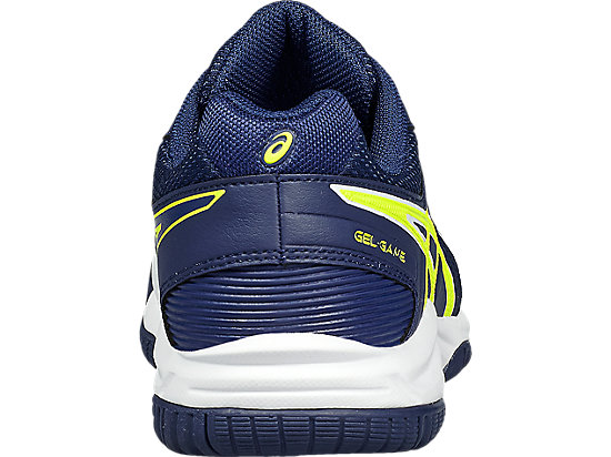 GEL-GAME 5 GS WHITE/INDIGO BLUE/SAFETY YELLOW 19