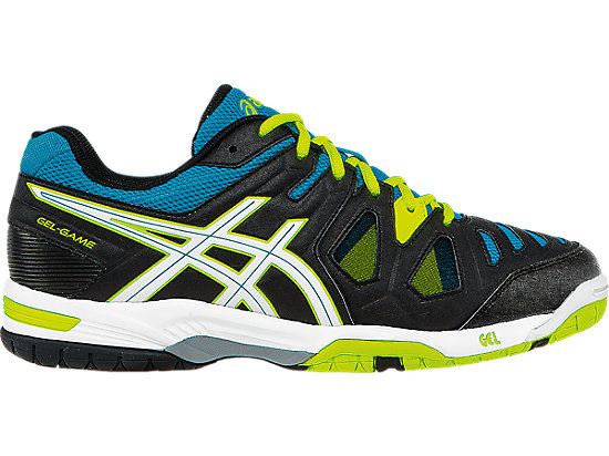 reputable site 75796 25053 GEL-GAME 5 GS   Kids   Onyx White Atomic Blue   ASICS US