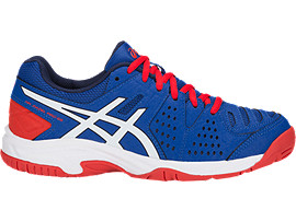 Right side view of GEL-PADEL™ PRO 3 GS, ASICS BLUE/WHITE