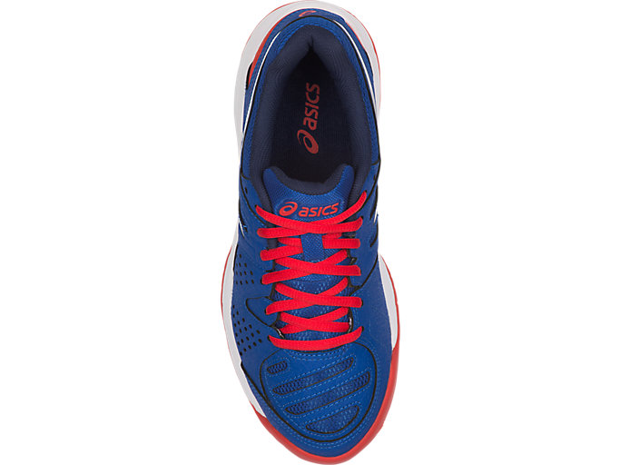 Top view of GEL-PADEL PRO 3 GS, ASICS BLUE/WHITE