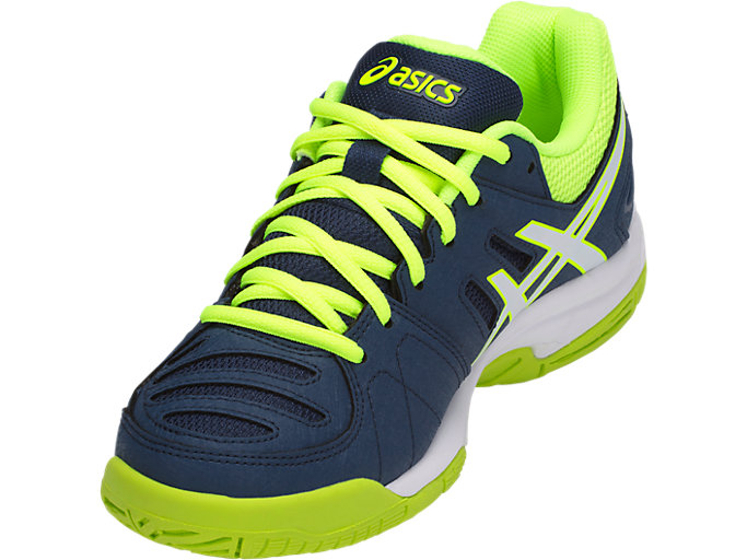 Asics Gel Padel Pro 3 GS PinkBlue Junior Shoe 360° View
