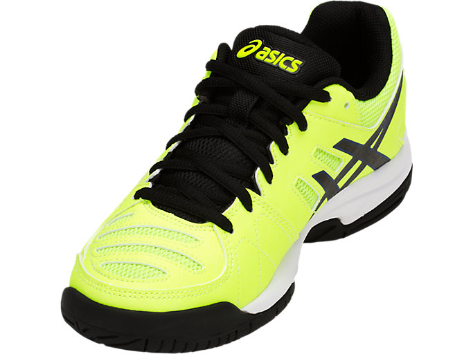 Front Left view of GEL-PADEL PRO 3 GS, FLASH YELLOW/BLACK